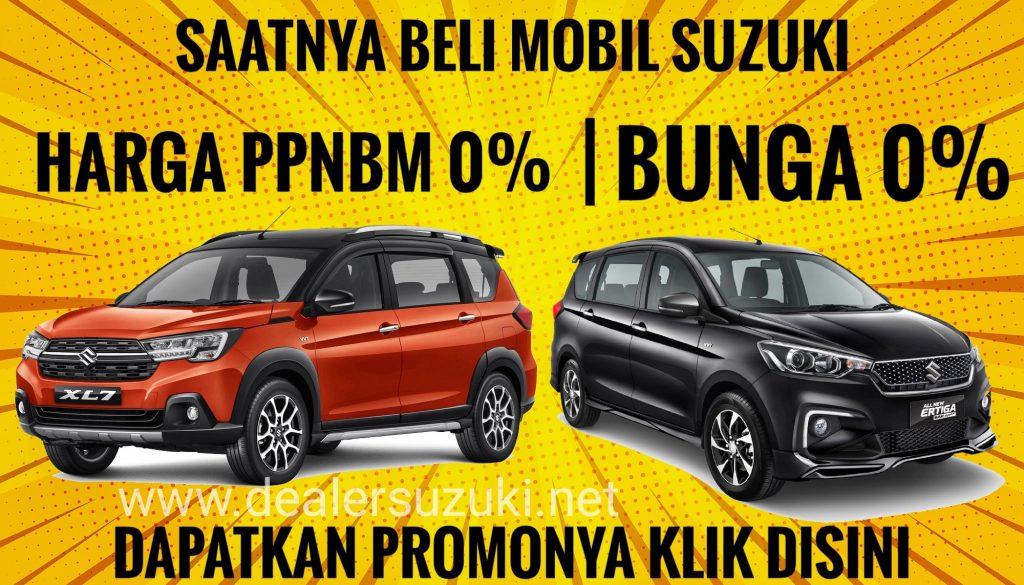 Promo harga Suzuki xl7 ertiga ppnbm 0%